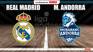 Real Madrid - Andorra, en vivo