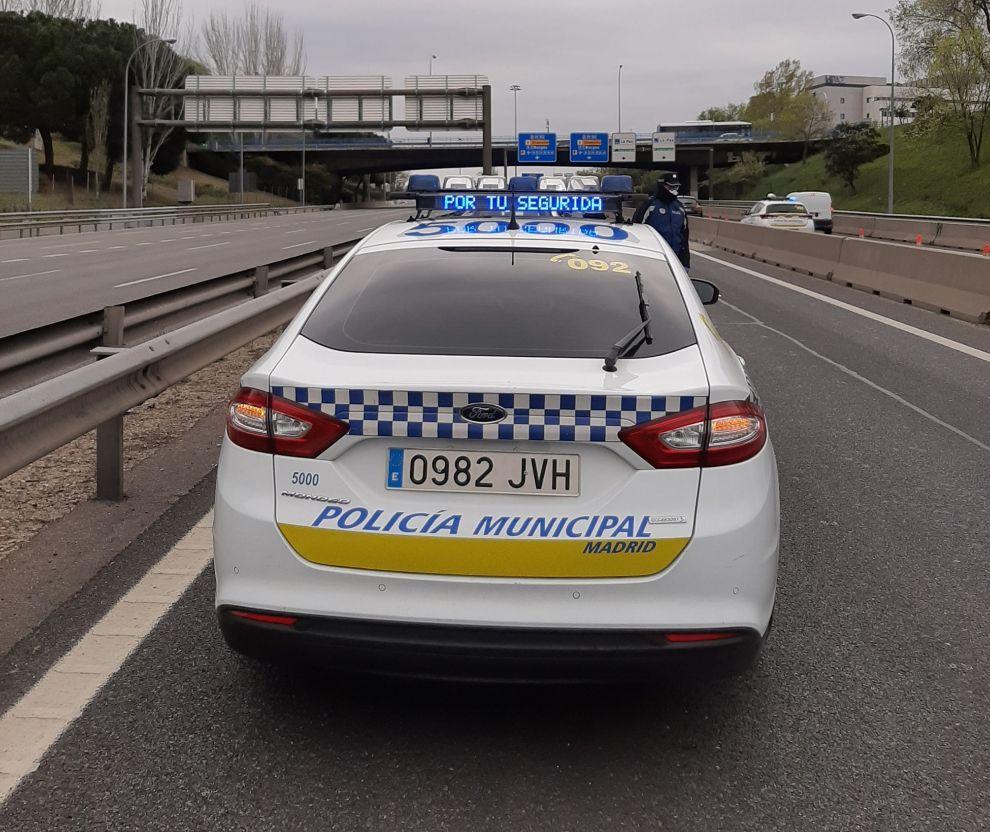 Controles de Policía Municipal de Madrid
