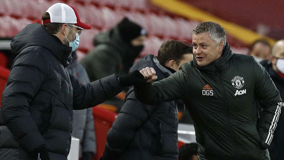 Manchester United - Liverpool: Resumen, goles y resultado