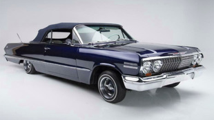 Este Impala convertible perteneció a Kobe Bryant.
