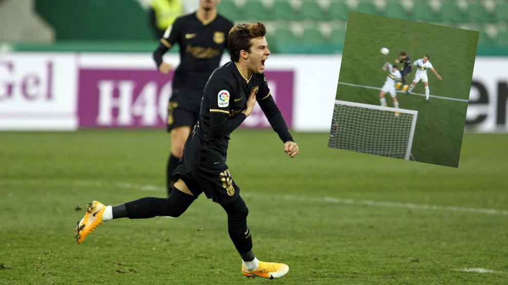 Riqui Puig: It's surreal to score with my head!