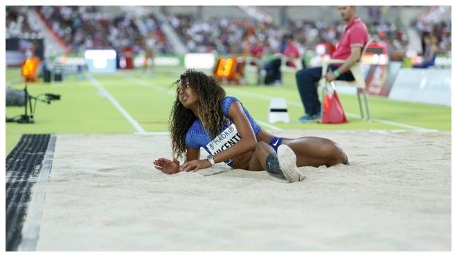 María Vicente, con 4.299, se queda a 113 puntos de su récord nacional en Francia