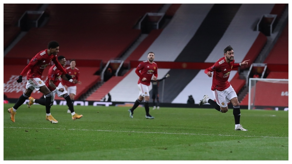 Manchester United 3 2 Liverpool Bruno Fernandes Freekick Sends Liverpool Packing In Fa Cup Marca In English