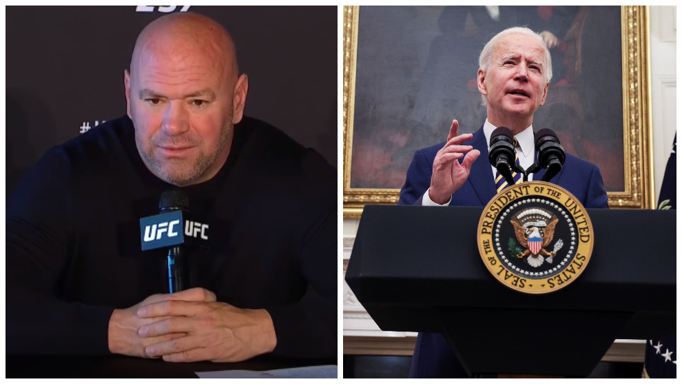Dana White fears for UFC's future in the USA