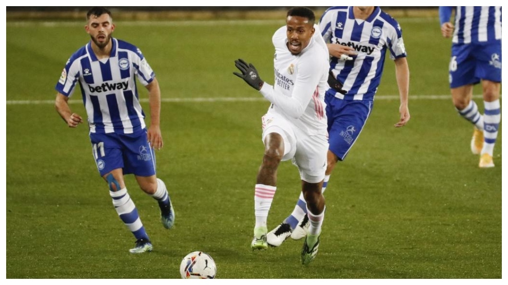 Militao against Alaves.