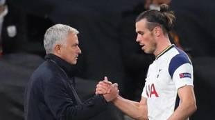Bale and Mourinho