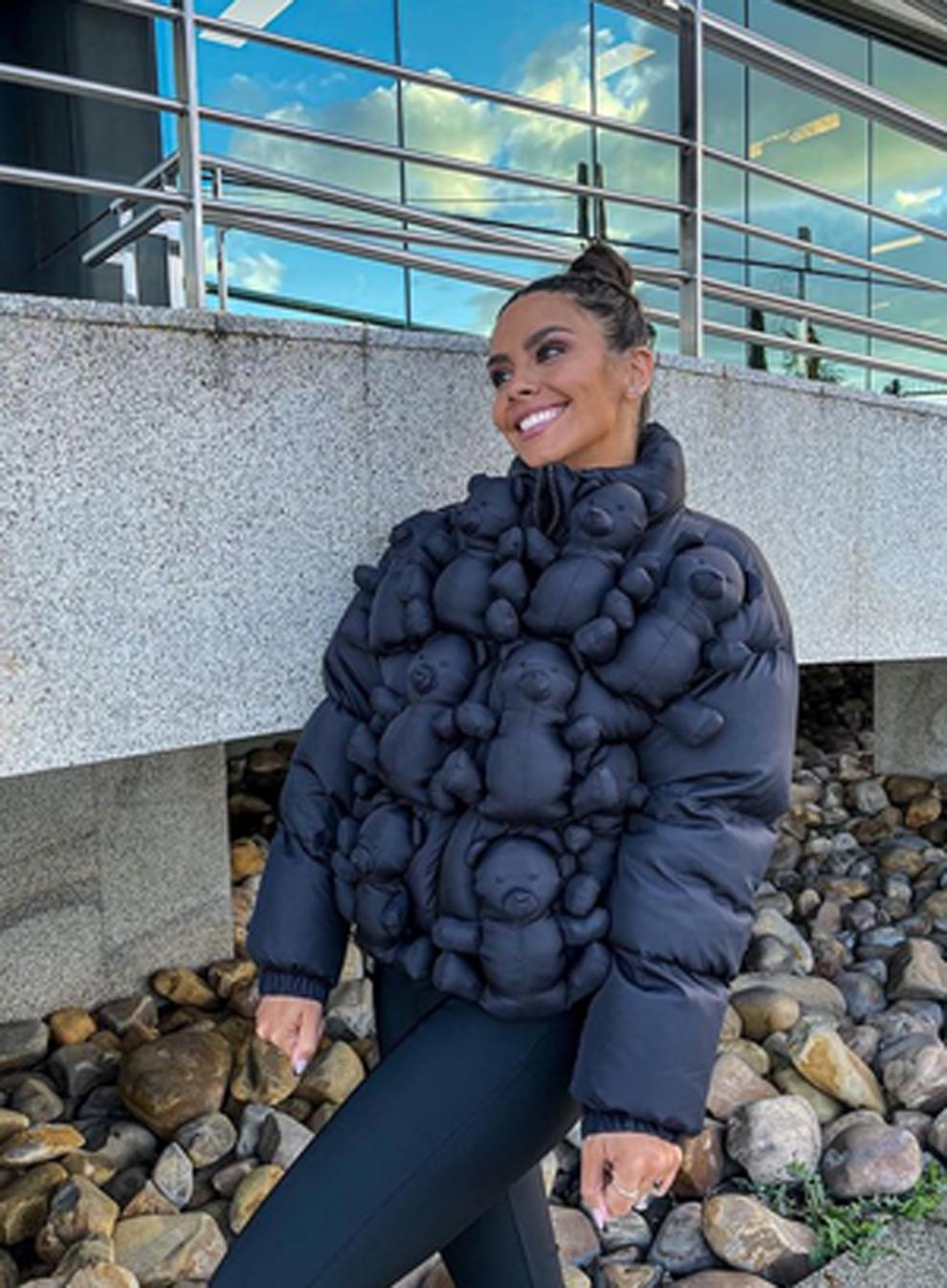 Cristina Pedroche abrigo ositos ursula corbero