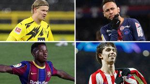 El ránking de los 25 jugadores más valiosos: entra Ansu, luce el Atlético... y debacle del Madrid