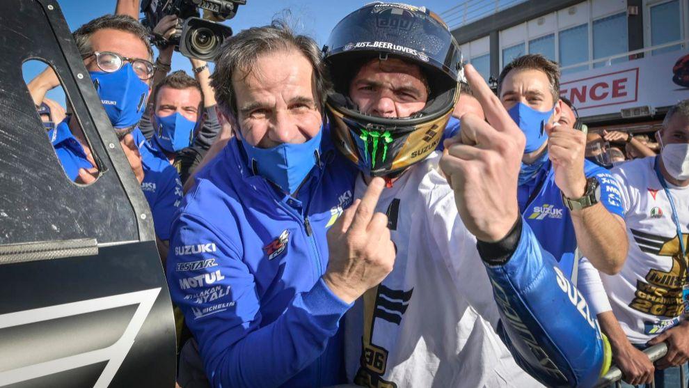 Cómo Suzuki quiso fichar a Rossi y descartó a Lorenzo por Mir