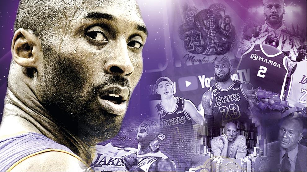 Kobe Bryant 1 año de su muerte