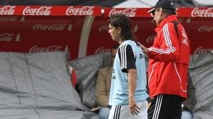 Cappa y Gallardo, cuando Ángel dirigía a River.
