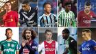 Coutinho, Malcom, Arthur, Junior, Carles Pérez (arriba); Matheus,...
