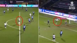 El desmarque de '9' de Bale para meter un gol con el Tottenham que va a dar que hablar