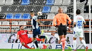 Mauro Quiroga falló el empate en el último minuto.