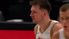 Luka Doncic durante el partido ante los Denver Nuggets