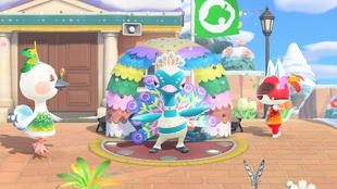 Animal Crossing te trae el Carnaval