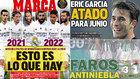 """Las portadas: """"Esto es lo que hay"""", """"Eric García atado para junio""""..."""