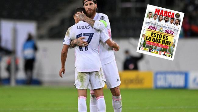 El mensaje del Madrid a Sergio Ramos y Lucas