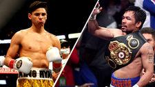 Manny Pacquiao dice que pelearía con Ryan García... con condiciones