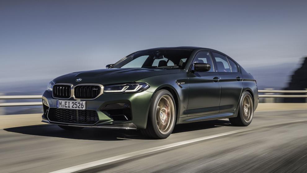 El BMW M5 CS está animado por un motor V8 de 4,4 litros con 635 CV.