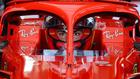 """""""¡Vamos!"""": el estreno de Sainz rodando con Ferrari"""