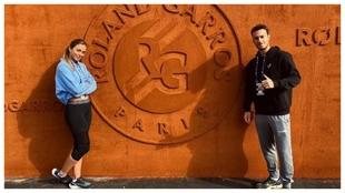 Badosa y Javier Martí, en su debut oficial en Roland Garros