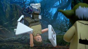 Desde el entrenamiento de Luke hasta la aventura de Rey; todo en LEGO...