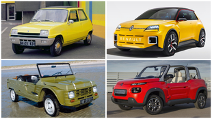 Así eran y así son ahora los coches más míticos