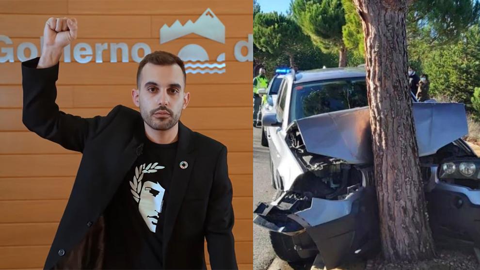 Dimite el miembro de Podemos que estrelló su BMW en Nochevieja