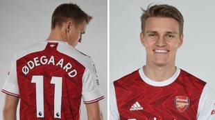 Martin Odegaard, nuevo jugador del Arsenal