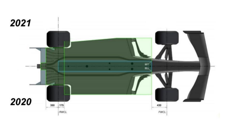 El suelo de los coches se recorta para proteger los neumáticos de...