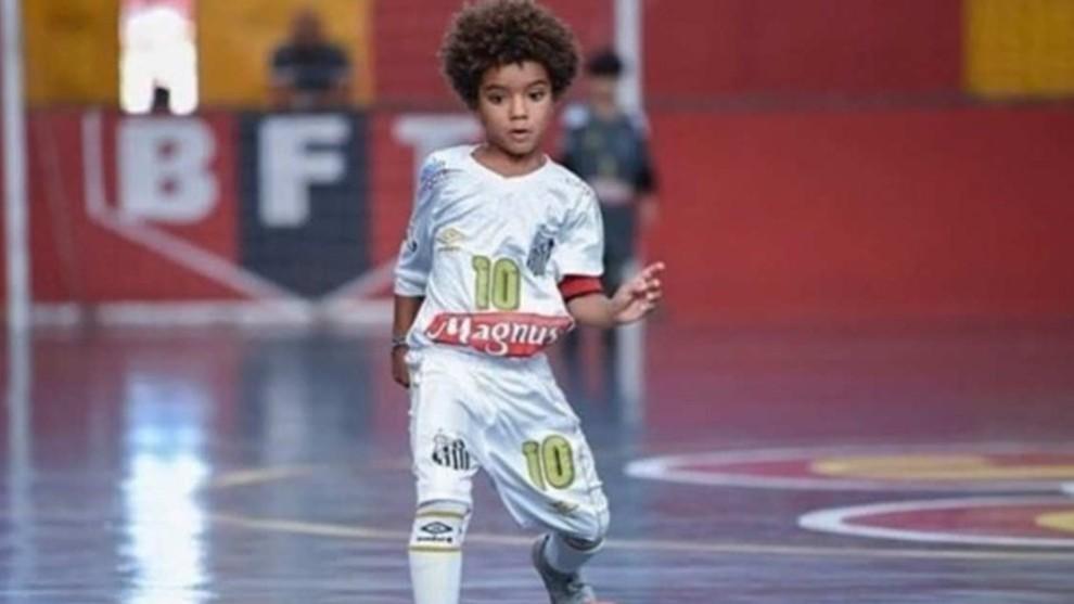 Kauan Basile, el 'niño maravilla' que supera la precocidad de Rodrygo, Neymar y Messi