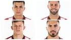 Ousama Siddiki, Ander Vitoria, Mateusz Bogusz y José Luis García...