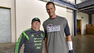 Miguel Herrera y Tom Brady
