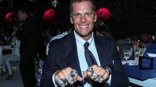 ¿Cuántos Super Bowl ha ganado Tom Brady?