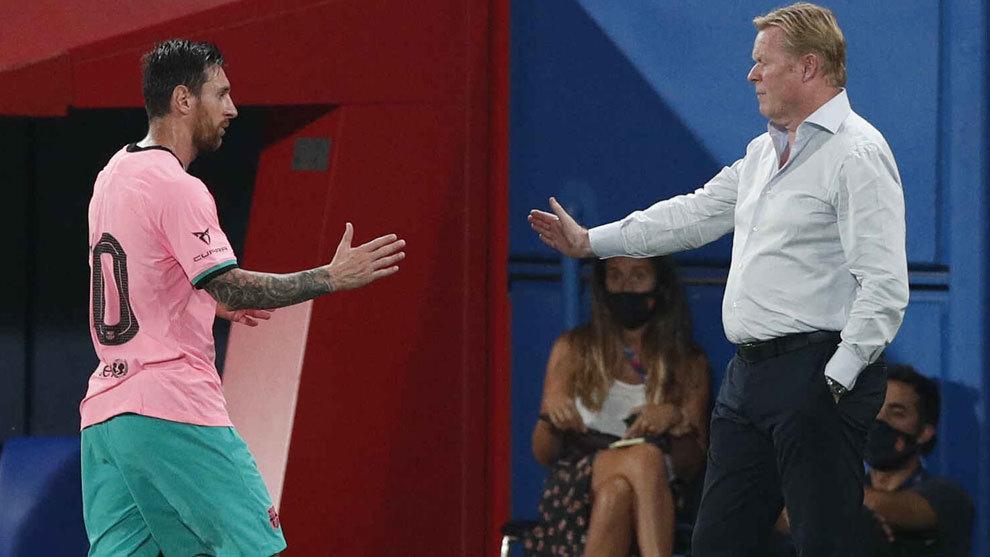 Ya hay once de Koeman: va con casi todo... y Messi