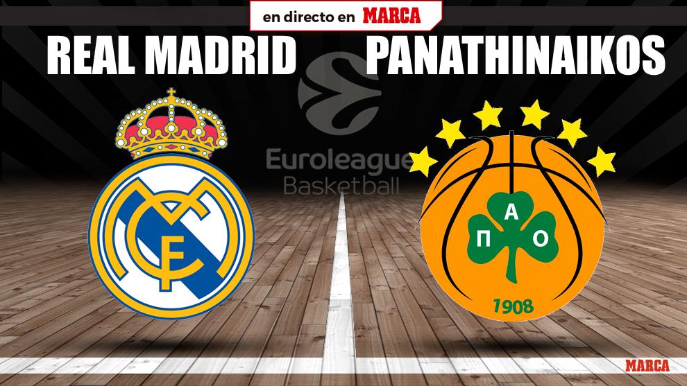 Real Madrid - Panathinaikos, en vivo