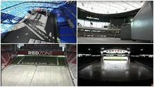 El Santiago Bernabéu y otros estadios con el sorprendente césped retráctil