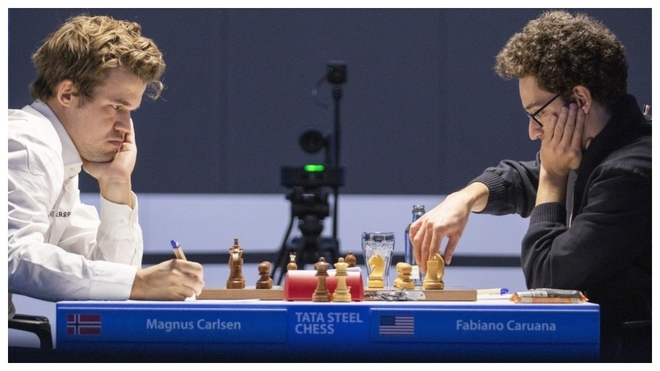 Carlsen contra Caruana.