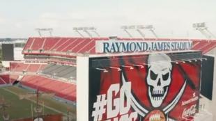 El Raymond James Stadium, la sede del Super Bowl LV.