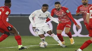 Rodrygo against Granada