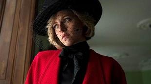 Kristen Stewart caracterizada como Lady Di. (Foto: EFE)