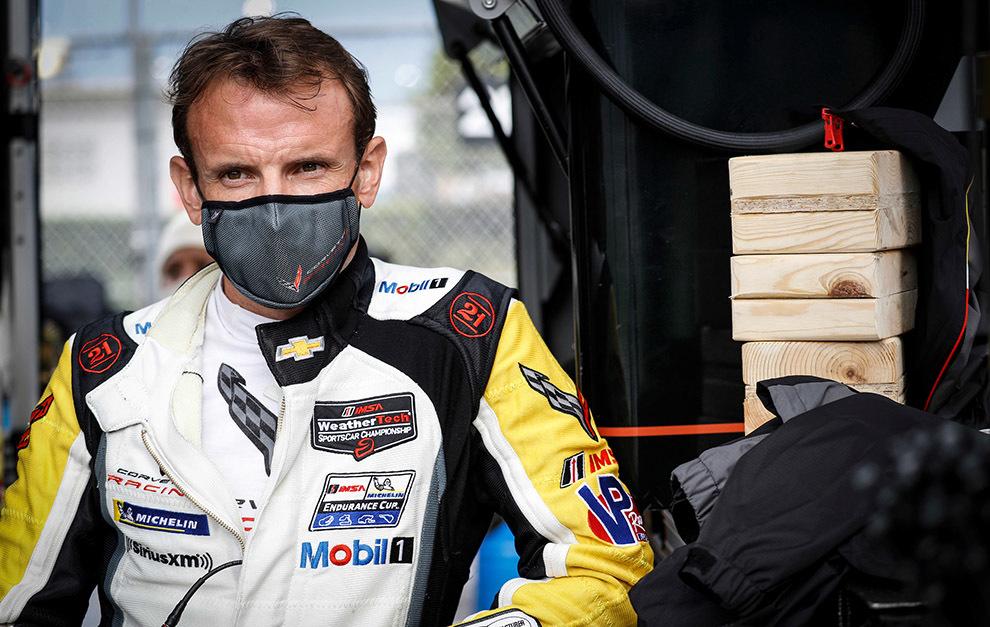 García es el jefe de filas de Corvette Racing.