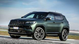 La imagen del nuevo Jeep Compass que se presentará en primavera.