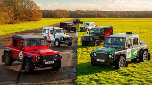 La colección de Land Rover propiedad de Richard Hayward no era nada...