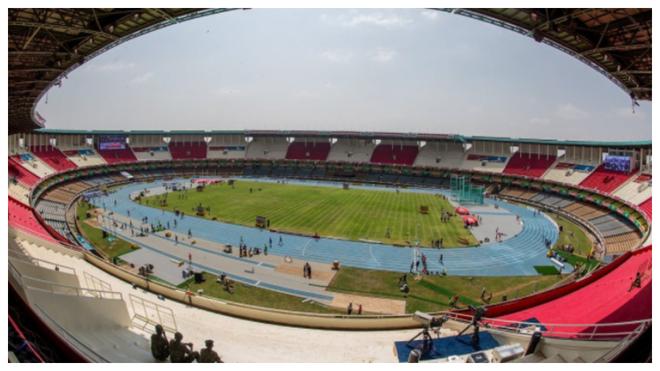Una imagen del Moi International Sports Centre de Nairobi.