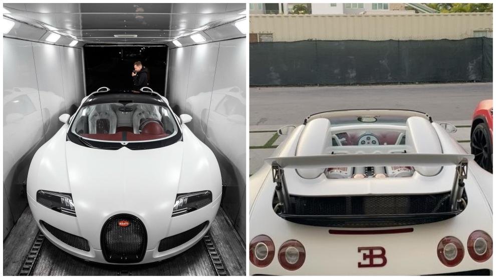 Así es el Bugatti Veyron Grand Sport Vitesse recién adquirido por Anuel AA.