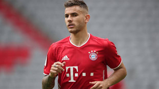Cisma en el Bayern por Lucas Hernández