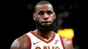 LeBron James en su etapa en los Cleveland Cavaliers