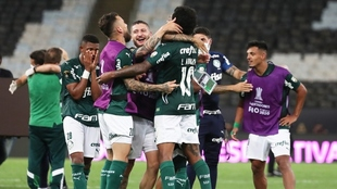 Hasta el final, Palmeiras encontró el gol y selló su boleto al...